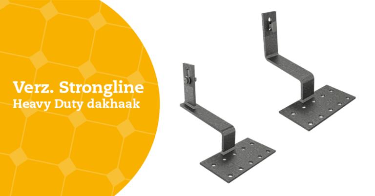 Image Nieuw product: de Strongline heavy duty dakhaak