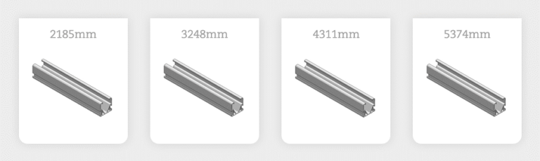 Image Nieuwe lengtes Side++ profielen voor grote zonnepanelen (ValkPitched)